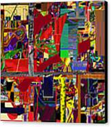 You Saw No Picture 12 Canvas Print by David Baruch Wolk