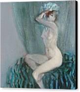 Young Model  Canvas Print by Grigor Malinov