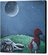 Youre Just A Big Bad Wolf. Canvas Print