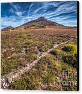 Yr Eifl Trail Canvas Print by Adrian Evans