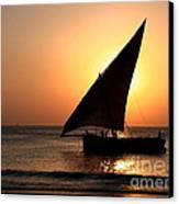 Zanzibar Sunset 22 Canvas Print by Giorgio Darrigo