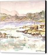 Zapallar Canvas Print by David  Hawkins