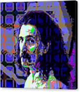 Zappa Blue Canvas Print