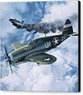 Zemke's Thunder Canvas Print by Randy Green