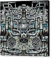 Zengine V1 Canvas Print by Pixel Chemist