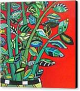 Zi Zi Plant II Canvas Print