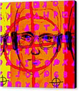 Zodiac Killer Three With Code And Sign 20130213 Canvas Print