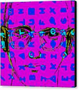 Zodiac Killer With Code And Sign 20130213m180 Canvas Print