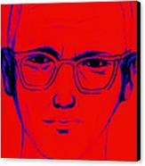 Zodiac Killer With Sign 20130213m128 Canvas Print by Wingsdomain Art and Photography