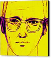 Zodiac Killer With Sign 20130213m68 Canvas Print by Wingsdomain Art and Photography