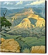 Zoroaster Temple From Yaki Point Canvas Print by Paul Krapf