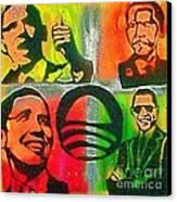 4 Barack  Canvas Print