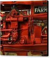 Mccormick Tractor - Farm Equipment  - Nostalgia - Vintage Canvas Print
