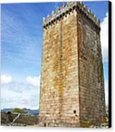 Melgaco Castle  In The North Of Portugal Canvas Print by Inacio Pires
