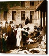 Pitie-salpetriere Hospital, 1795 Canvas Print by Photo Researchers