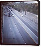 🚙🚗🚕 Stopped Due To An Accident Canvas Print by Nena Alvarez