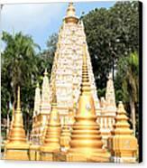 Stupa  Canvas Print by Panyanon Hankhampa