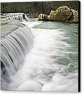 0804-0012 Six Finger Falls 1 Canvas Print by Randy Forrester