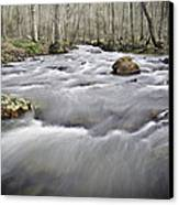 0804-0122 Rolling Creek Of The Ozark Mountains Canvas Print