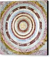 14th Century Theological Cosmography Canvas Print by Sheila Terry