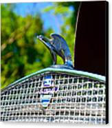 1931 Chevrolet Ae Independence Hood Ornament Canvas Print by Paul Ward