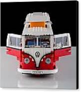 1962 Vw Lego Bus Canvas Print by Noah Katz