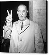 1964 Presidential Election. Lyndon Canvas Print
