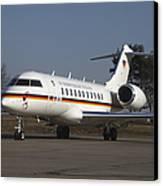 A Bombardier Global 5000 Vip Jet Canvas Print