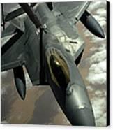 A U.s. Air Force F-22 Raptor Canvas Print