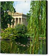 A View Of The Parthenon 17 Canvas Print