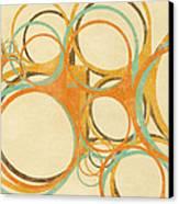 Abstract Circle Canvas Print by Setsiri Silapasuwanchai