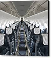 Airplane Seating Canvas Print by Jaak Nilson