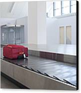 Airport Baggage Claim Canvas Print by Jaak Nilson