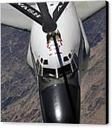 An Rc-135 Rivet Joint Reconnaissance Canvas Print by Stocktrek Images