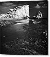 Aphrodites Rock Petra Tou Romiou Republic Of Cyprus Europe Canvas Print by Joe Fox