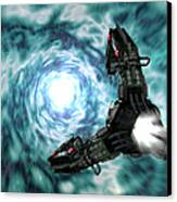 Artists Concept Of The Assimilators Canvas Print by Rhys Taylor