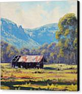 Australian Landscape Lithgow  Canvas Print by Graham Gercken