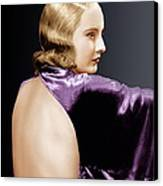 Baby Face, Barbara Stanwyck, 1933 Canvas Print by Everett