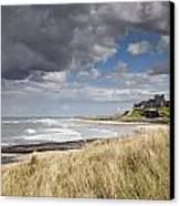 Bamburgh Castle Northumberland, England Canvas Print by John Short
