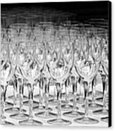 Banquet Glasses Canvas Print by Svetlana Sewell