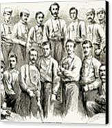 Baseball Teams, 1866 Canvas Print