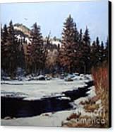 Beaver Creek Canvas Print by W  Scott Fenton
