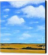 Big Sky Prairie Canvas Print by Holly Donohoe