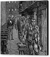 Blackwells Island, 1876 Canvas Print