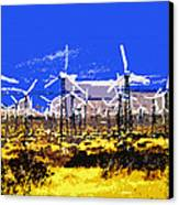 Blowing In The Wind Canvas Print by David Lee Thompson