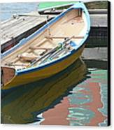 Boats Of Boston Harbor Canvas Print
