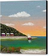 Canary Cove Canvas Print
