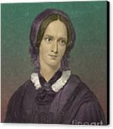 Charlotte Bronte, English Author Canvas Print