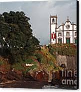 Church By The Sea Canvas Print by Gaspar Avila