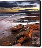 Coastline At Twilight Canvas Print